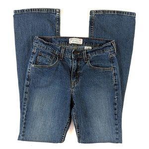 Levi's Strauss Bootcut Jeans Stretch Stone Wash 6